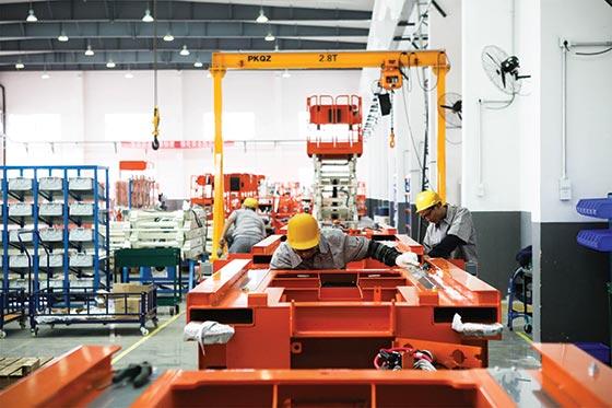 SNORKEL公司将在首届APEX Asia博览会上首次推出中国造剪叉式升降机